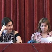 Емануела Иванова и доц. Дамянова