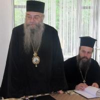 Епископ Евлогий и митрополит Серафим
