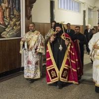 Посрещане на Мелнишки епископ Герасим в Богословския факултет