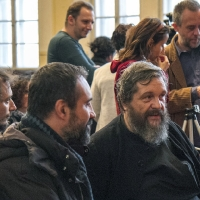 Разговор преди лекцията между доц, Риболов и проф. Лудовикос