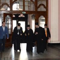 Посрещане на Негово Светейшество патриарх Неофит в Богословския факултет