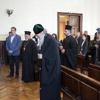 Изпяване на тропара на св. Климент Охридски