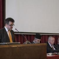 Стоян Малинов представя дисертационния си труд