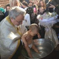 Масово св. Кръщение в столичния храм Св. София