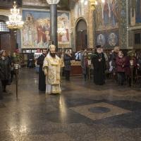 Архиерейска св. Литургия с Мелнишки епископ Герасим