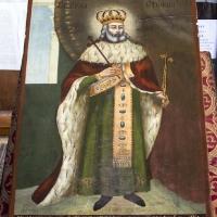 Икона на св. Стефан Милутин