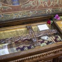 Раката с мощите на св. Стефан Милутин