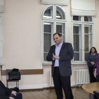 Г-н Ангел Младенов, отец Ангел Ангелов и г-жа Ваня Станчева