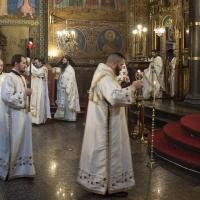 Заупокойна св. Литургия за патриарх Максим