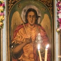 Патронната икона на архангел Михаил