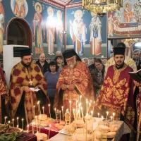 Празнична вечерня в Обрадовскияманастир