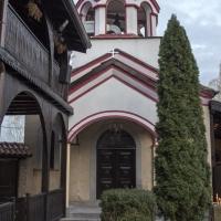 Храм Св. Мина в Обрадовския манастир