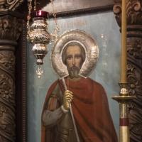 Патронната икона на св. вмчк Мина