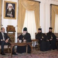 Среща на патриарх Неофит с президента Радев