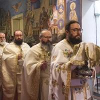 Архиерейска св. Литургия в Богословския факултет