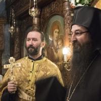 Протойерей Николай Нешков и архимандрит Василий