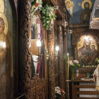 Празнична вечерня в храм Св. Николай