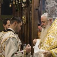 Архиерейска св. Литургия в храм Св. Николай
