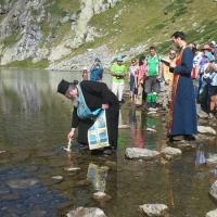 Водосвет на езерото Бъбрека