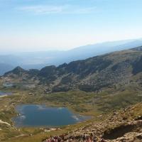 Изглед към езерата