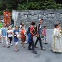 На влизане в Рилския манастир