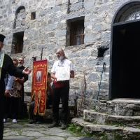 Финалът на похода - при Старата постница