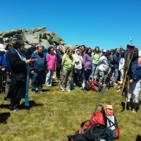 Четене на акатиста на св. Йоан Рилски на Черни връх