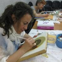 В школата по иконопис