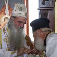 Епископ Давид и протойерей Стефан