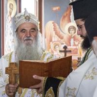 Архиерейска св. Литургия в Крушевац с владика Давид