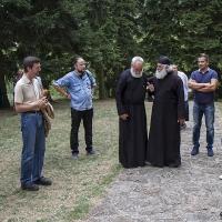 С игумен Дамаскин в манастира Наупаре