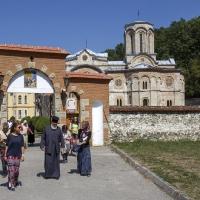 На тръгване от манастир Любостиня