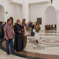 В новата епископска катедрала в Кралево