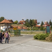 При манастир Жича, край Кралево