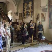 Презентация за българската група в притвора на съборната църква в Жича