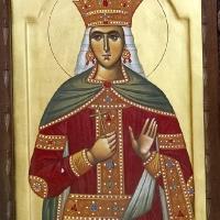 Икона на св. княгиня Милица в Лазарица