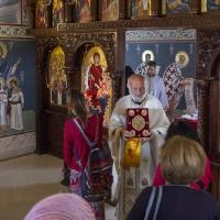 Целуване на св. Евангелие на възкресната утреня