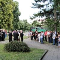 Тържествен водосвет и благотворителен концерт в транспортното училище_4