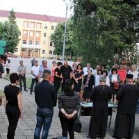 Тържествен водосвет и благотворителен концерт в транспортното училище_5