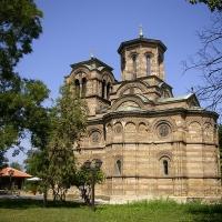 Църквата Рождество на Пресвета Богородица в гр. Крушевац, наричана Лазарица - построена от св. княз Лазар през 14. век