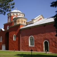 Главната църква на манастир Жича - Възнесение Господне