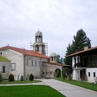 Манастир Св. вмчк Георги, в село Хаджидимово, край Гоце Делчев