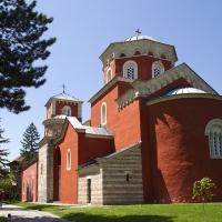Главната църква на манастир Жича - Св. Спас (Възнесение Господне)
