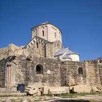 Манастир Джурджеви ступови - на висок хълм над гр. Нови Пазар и старата столица Рас