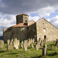 Петрова църква в Нови Пазар, Стари Рас, от 9. век