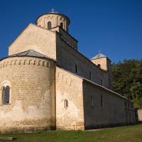 Църквата Света Троица (1260) на манастира Сопочани