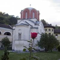 Манастира Студеница - църквата Св. Иоаким и Анна - задужбина на св. крал Стефан Милутин