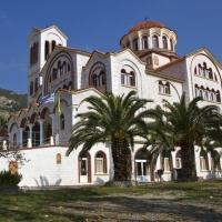 Главната църква на манастирския комплекс Св. Лидия край Аспровалта