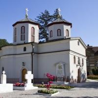 Църквата Св. Архангели в манастир Раковица (край Београд), с гроба на патриарх Павле