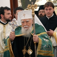 Блаженопочившия Български патриарх и Софийски митрополит Максим в храм Св. Марина